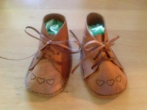 Handmade Baby Shoes - 2014