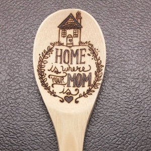 Home Is Where Your Mom Is Spoon - 2017