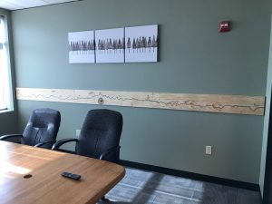 WellSource - Conference Room Wall Panel
